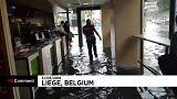 Liège : les inondations métamorphosent la ville