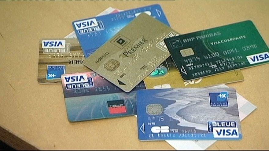 Visa sistemi kullanan çeşitli banka ve kredi kartları