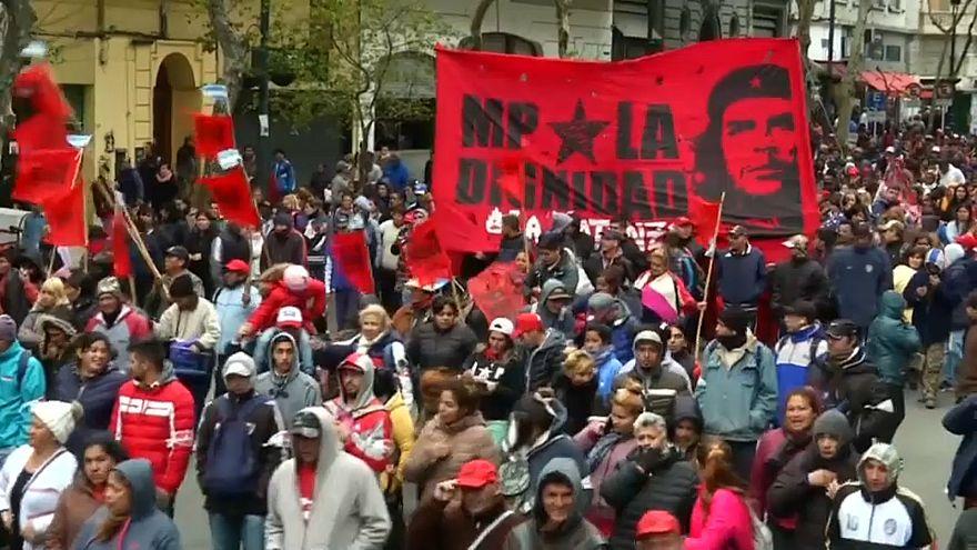 El grito de la calle argentina contra el FMI