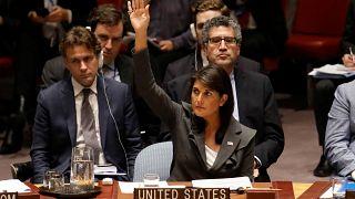 مندوبة الولايات المتحدة في مجلس الأمن الدولي نيكي هيلي