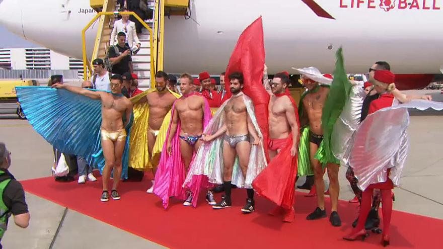 Jede Menge Stars beim 25. Life Ball in Wien