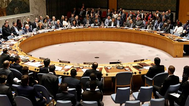 Security Council meeting at U.N. headquarters
