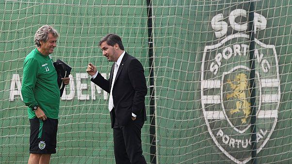 Os dias amenos entre Jorge Jesus e Bruno de Carvalho já estão bem longe