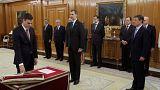 نخست وزیر جدید اسپانیا در مقابل پادشاه سوگند خورد