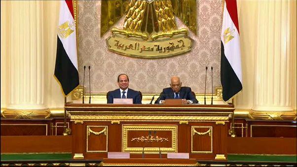 Al Sisi jura su segundo mandato presidencial en Egipto