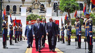 Al-Sisi toma posse para mais quatro anos de mandato