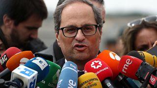 Le chef du gouvernement catalan appelle Sanchez à négocier