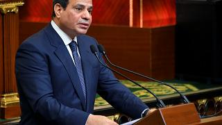 Le président al-Sissi entame son second mandat