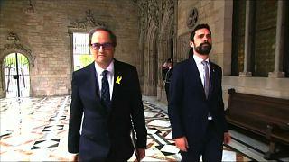 New Catalan cabinet sworn in