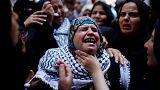 Funeral por la enfermera palestina abatida por el Ejército israelí