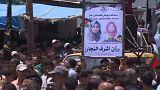 İsrailli askerlerin öldürdüğü Gazzeli hemşire toprağa verildi