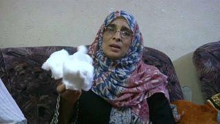 Gaza-Proteste: Krankenschwester beigesetzt