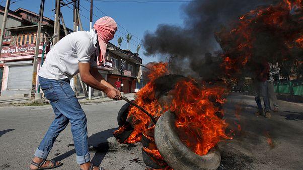 Συγκρούσεις στο Κασμίρ της Ινδίας