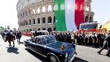 İtalya'da yeni hükümet Cumhuriyet Günü kutlamalarında yerini aldı