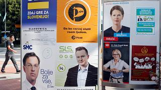 Anti-immigration party set to gain most votes in Slovenia