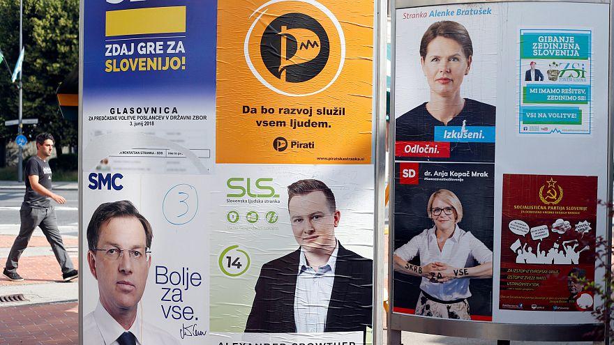 Slovenya'daki erken seçimlerde göçmen karşıtı parti favori