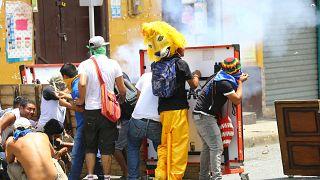 Unruhen in Nicaragua