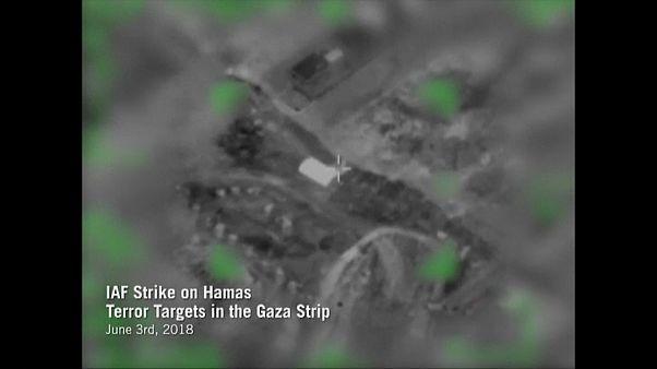 """Luftschläge auf """"Terrorstandorte"""" im Gazastreifen"""