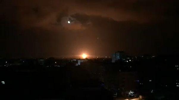 Gáza: éjszakai rakétapárbaj
