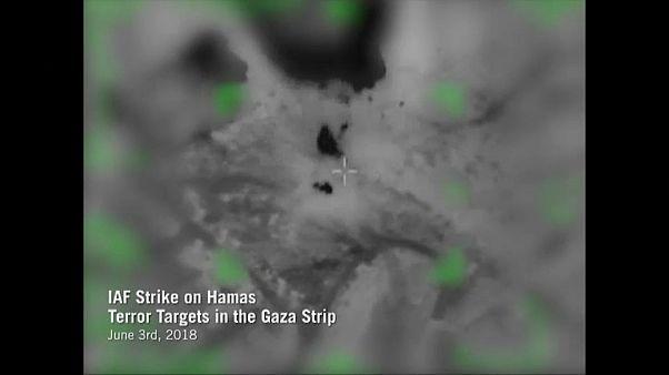 İsrail: 'Hamas'a ait 15 hedefi vurduk'