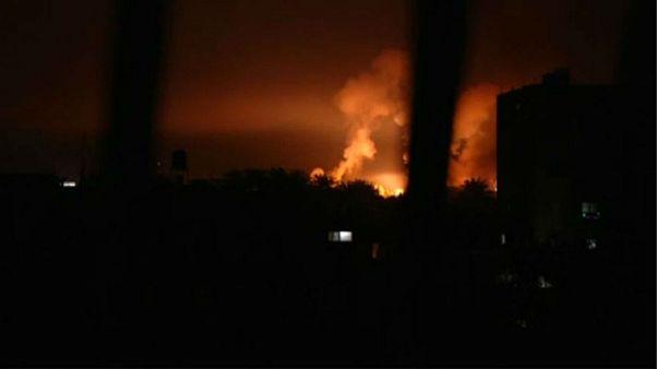 Ισραήλ: Έπληξε στόχους της Χαμάς - Απάντηση σε επίθεση με ρουκέτες