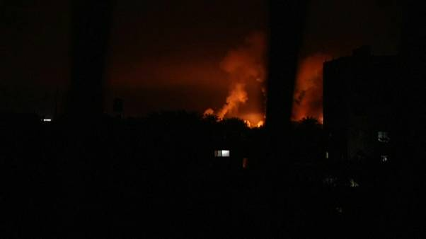 Israel bombardea instalaciones de Hamás en Gaza