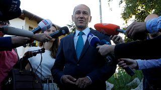 Janez Jansa, favorito en las elecciones eslovenas