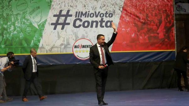 """Di Maio promete """"mejorar la calidad de vida de la gente"""""""