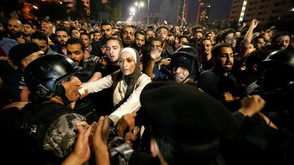 Nuevas protestas contra la política de austeridad en Jordania