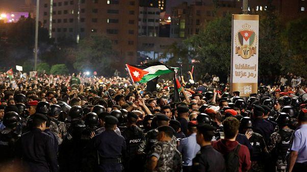A megszorítások ellen tiltakoznak Jordániában