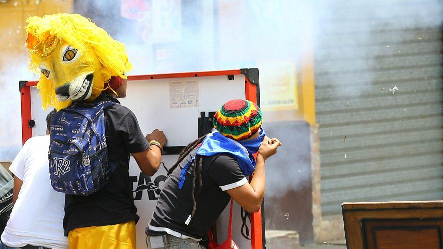 اشتباكات عنيفة بين متظاهرين وقوات حفظ النظام في نيكاراغوا