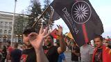 Macedonian opposition flexes muscles in march in Skopje