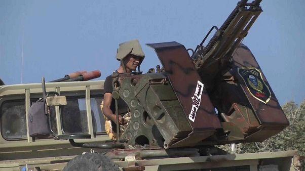 الجيش الوطني الليبي بقيادة حفتر بانتظار الأوامر لاقتحام درنة