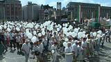 Les Liégeois rendent hommage aux victimes de l'attentat