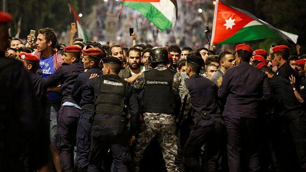 Protestas en Jordania contra las reformas impulsadas por el FMI