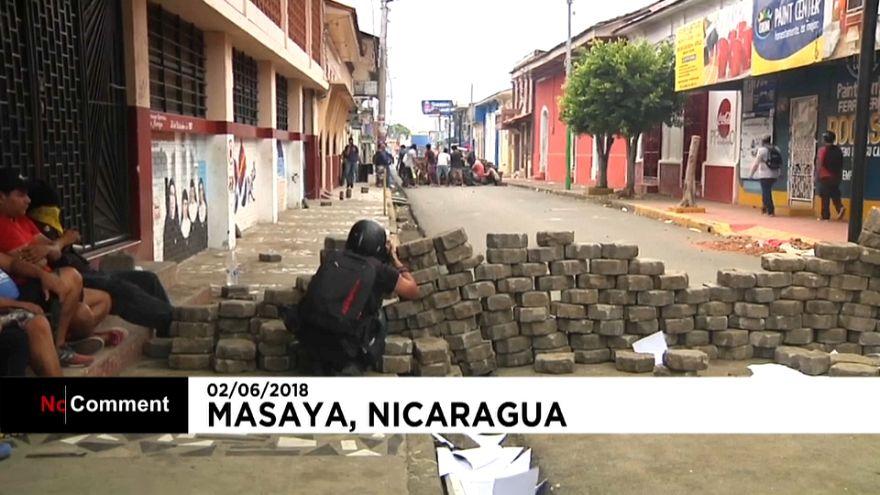 Las calles de Nicaragua teñidas de sangre