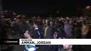 Several thousand protest in Jordan