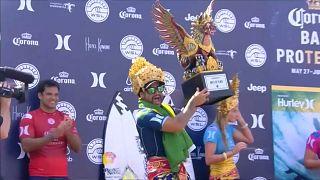 Ítalo Ferreira vence em Bali e lidera Liga Mundial
