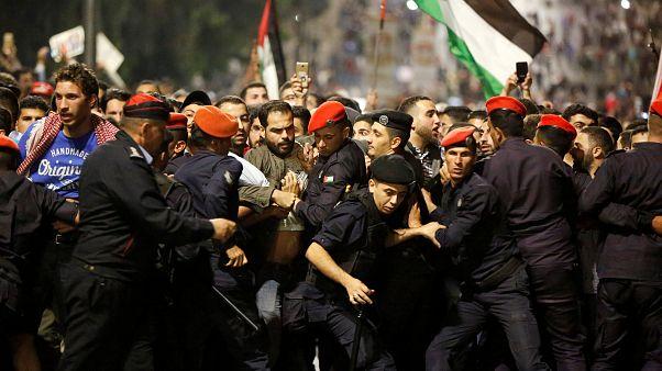 Nouvelles manifestations en Jordanie