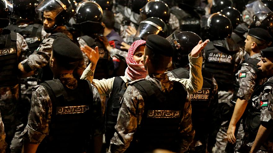 Иорданцы против реформы