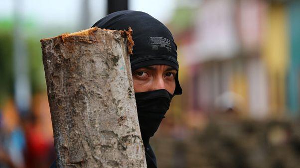 Violents heurts au Nicaragua