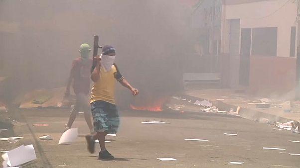 Seis mortos nos protestos na Nicarágua