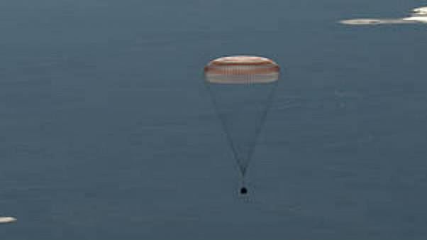 Expedition 55 crew lands back on Earth after 168 days in space