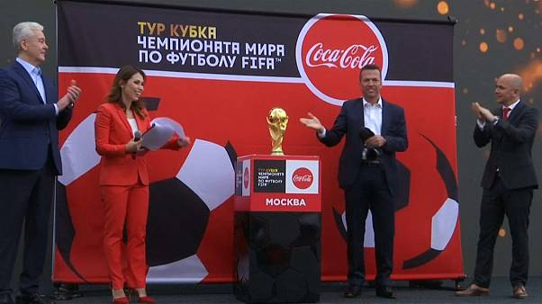 Moscow welcomes World Cup 2018 trophy