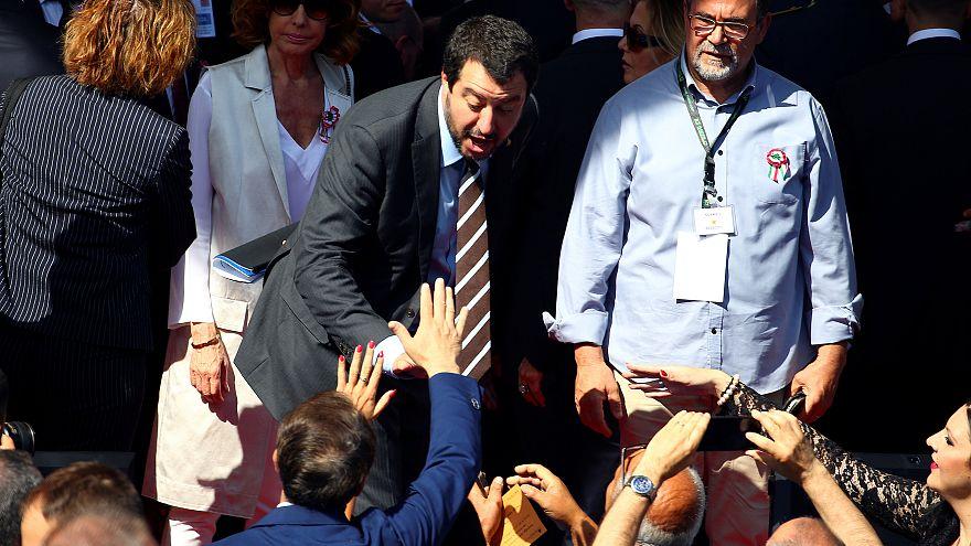 Salvini en Sicile pour marteler son discours anti-immigration