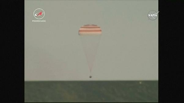 Soyuz de volta à Terra