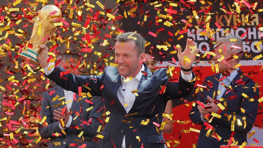 Matthäus world cup trophy