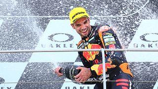 Miguel Oliveira volta a ser feliz em Mugello