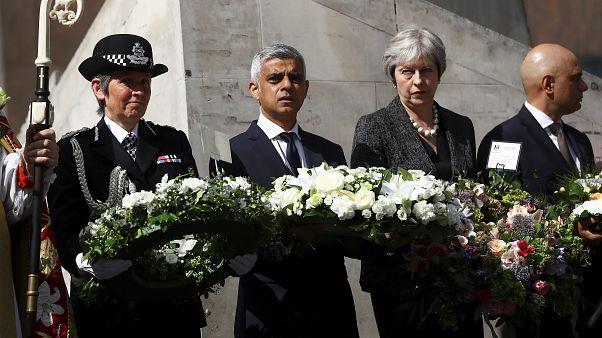Londres conmemora el primer aniversario de los ataques terroristas