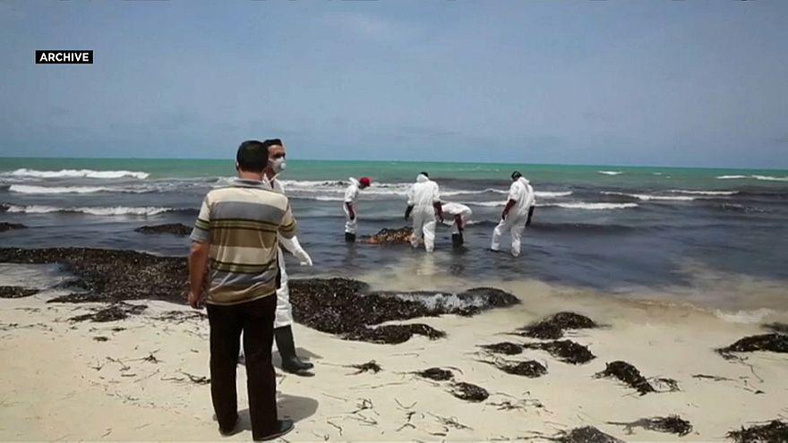 صورة أرشيفة لغرق مهاجرين